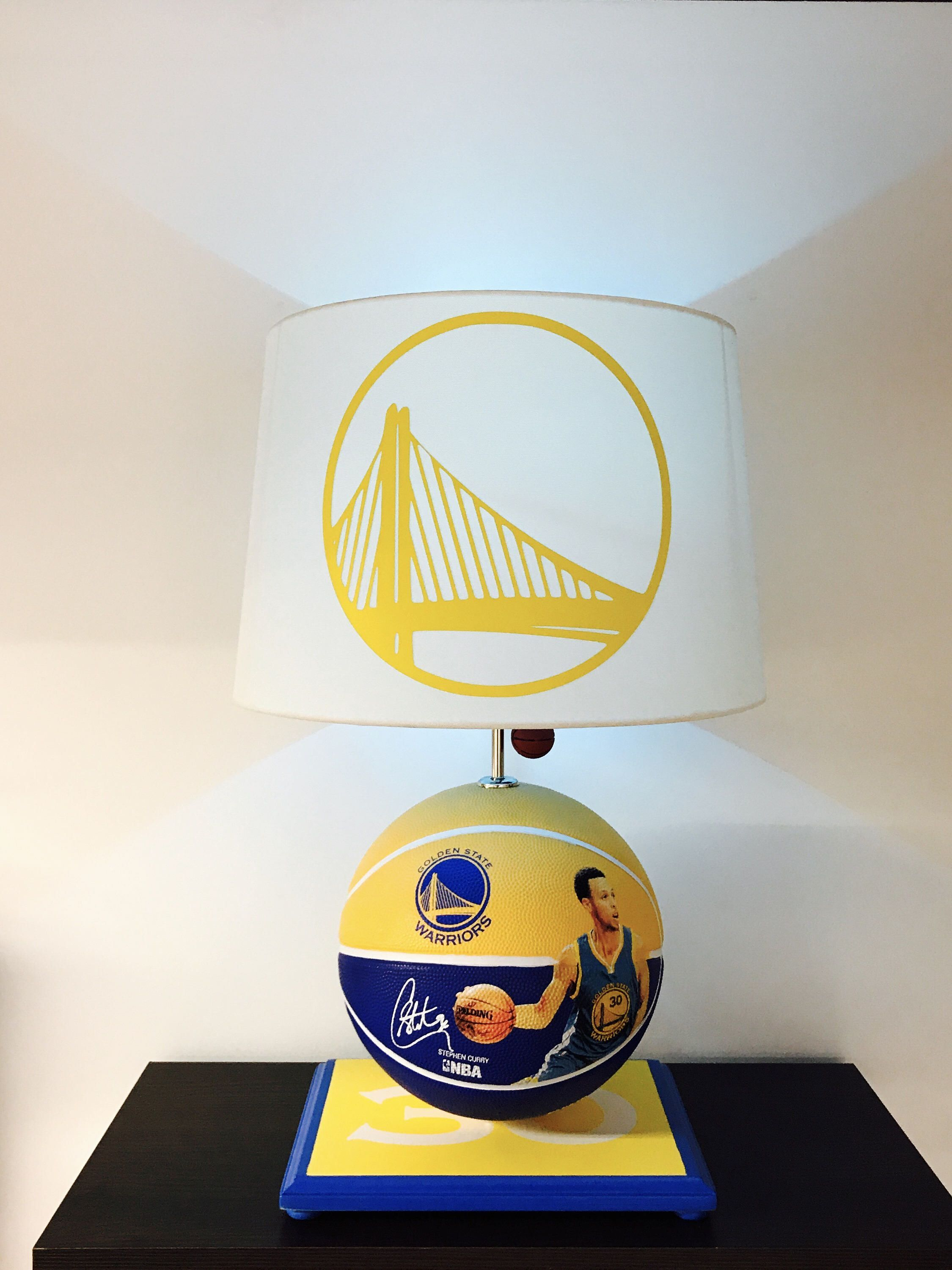 Steph Curry, Steph Curry Lamp, Golden State Warriors lamp, Warriors ...