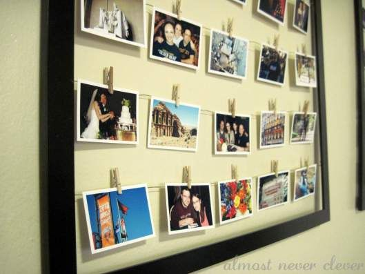 The Modern Collage Frame | Photo wall, Walls and Paper organization