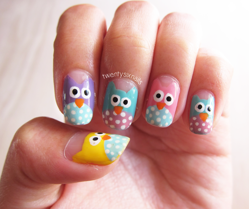 Owl Nail Art Designs Best Nail Designs 2018