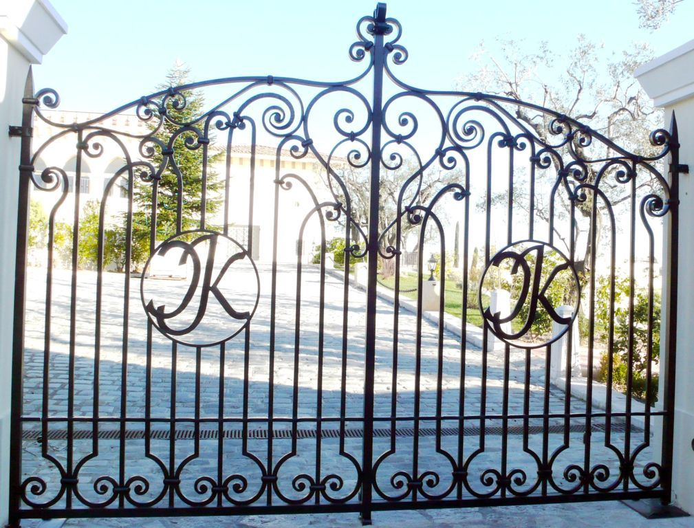 Wrought Iron Gates Material Wrought Iron Gate Ts 092