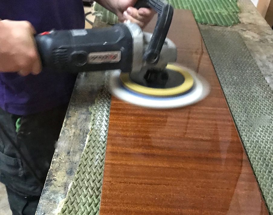 Polishing... | Piano restoration, Antiques value, Piano