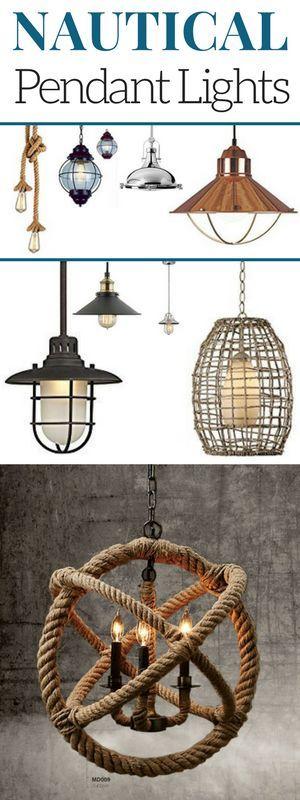 100 Nautical Pendant Lights And Coastal Pendant Lights For 2020 Modern Bedroom Lighting Industrial Light Fixtures Modern Light Fixtures
