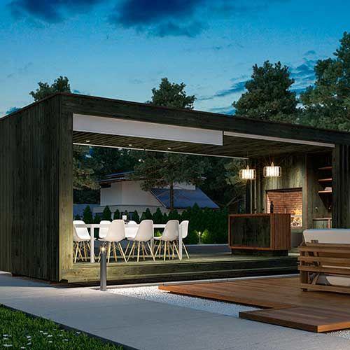 4box Tu Quincho En Semanas Kit Prefabricado Casas