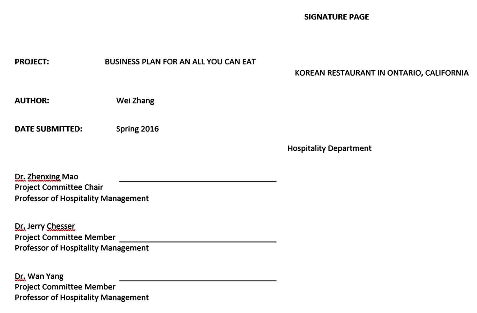 BBQ Catering Business Plan in 2020 Catering business