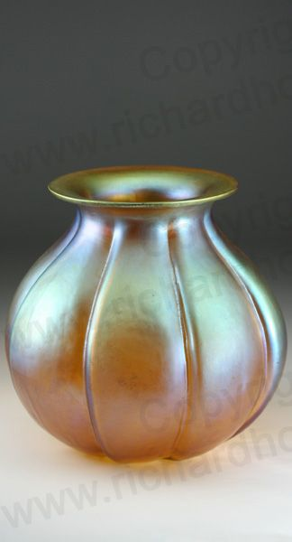 Vintage C1920s 30s Wmf Myra Gold Vase Shape J295 Karl Wiedmann