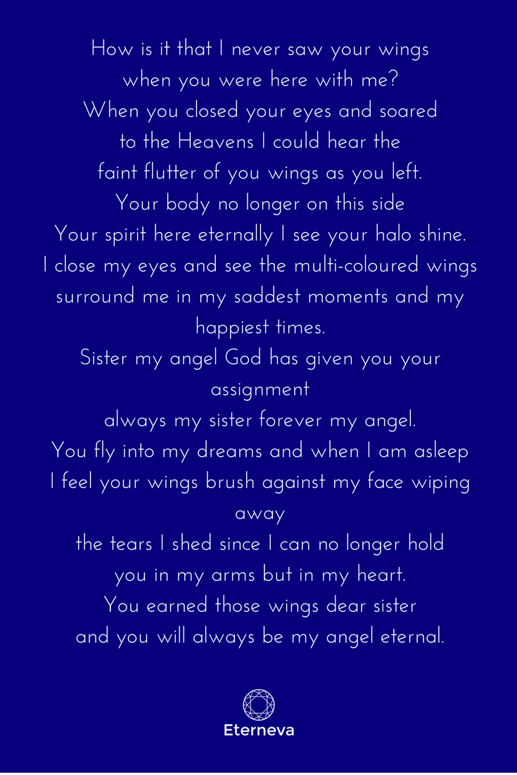 Sister Funeral Poems 6
