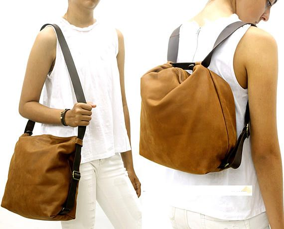 Sale!! Small Leather backpack bag convertable backpack purse ...