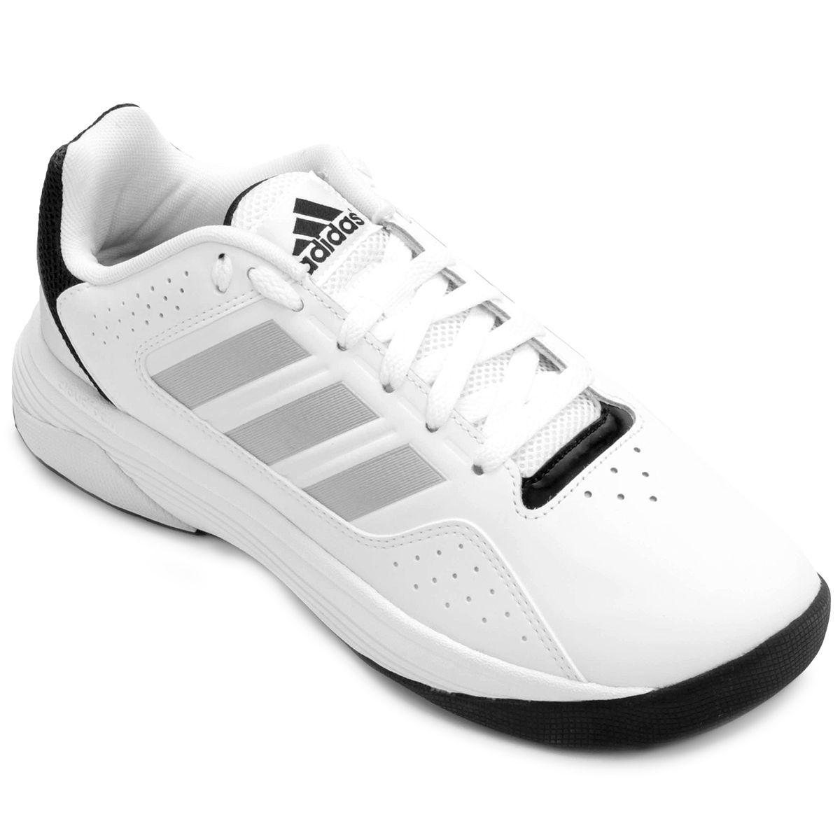 708716b9318 Tênis Adidas Cloudfoam Ilation - Branco e prata