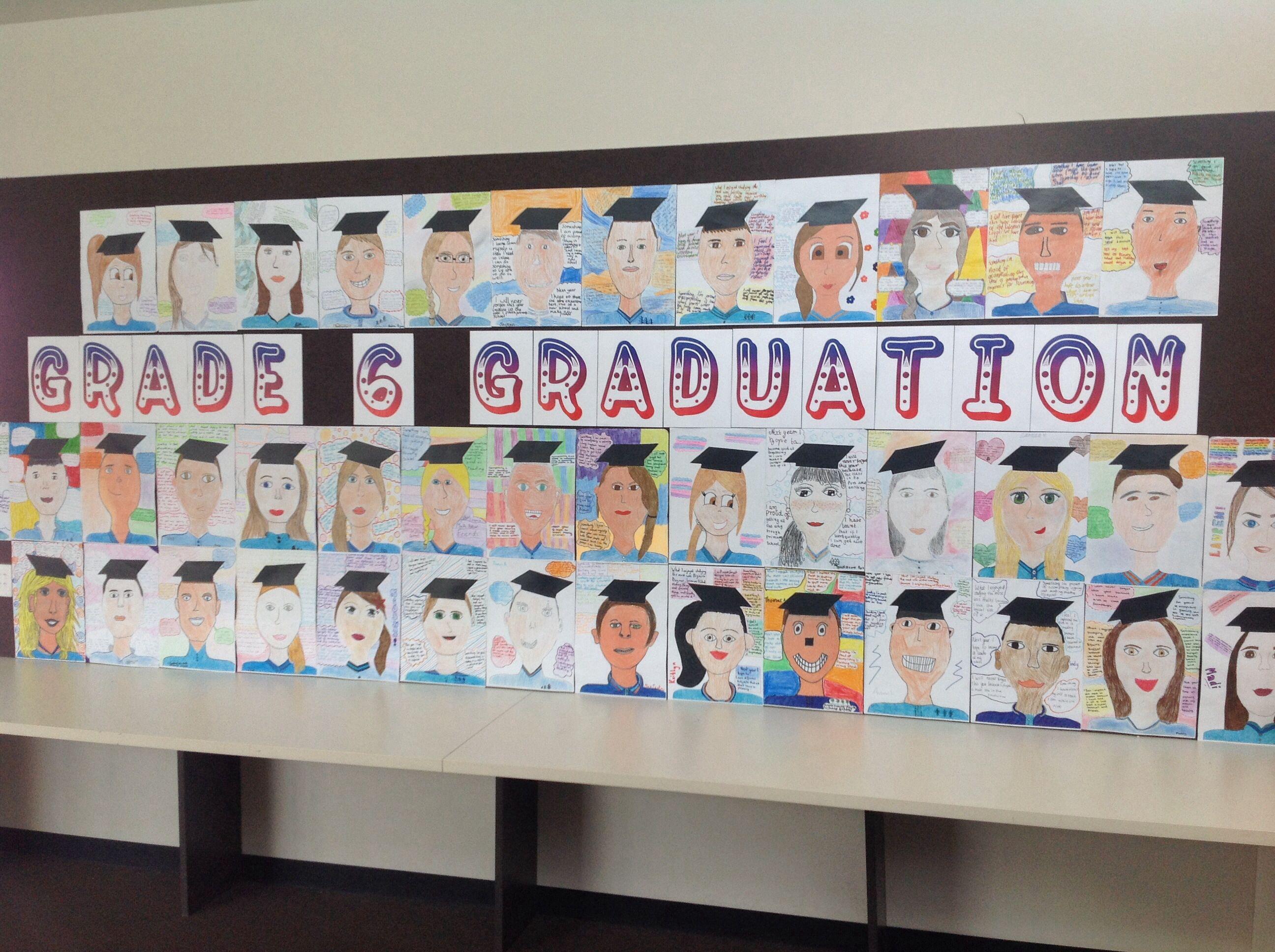 Classroom Ideas Year 6 ~ Grade graduation display classroom displays
