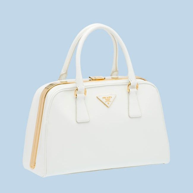 bef4faf870b3 BL0809 Hot Sell Prada Saffiano Leather Tote Bag BL0809 white