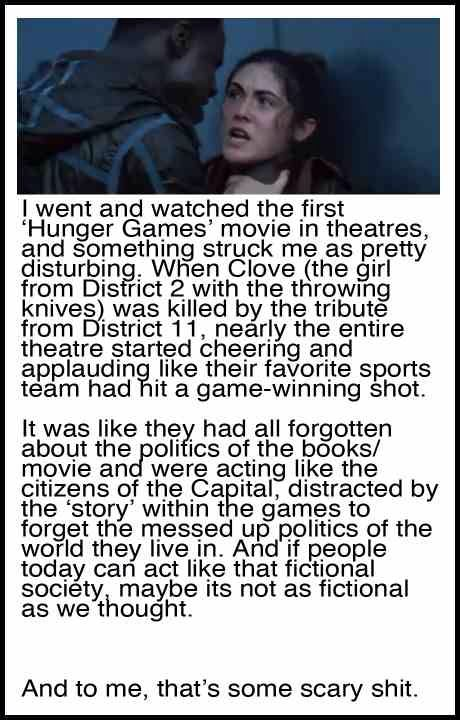 stories like the hunger games