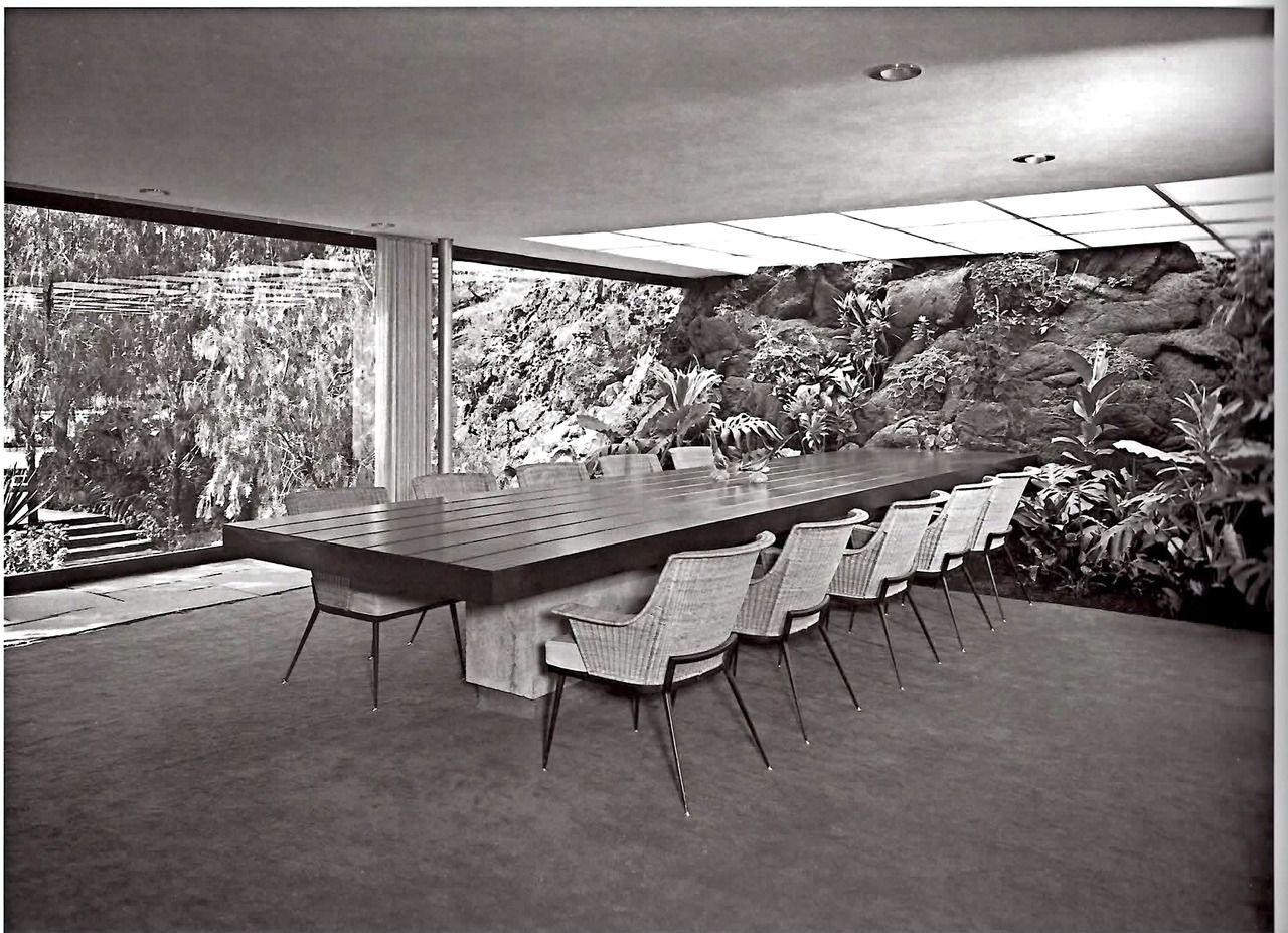 Casa Luis Bustamante, Jardines del Pedregal, México DF. 1956 Casa ...