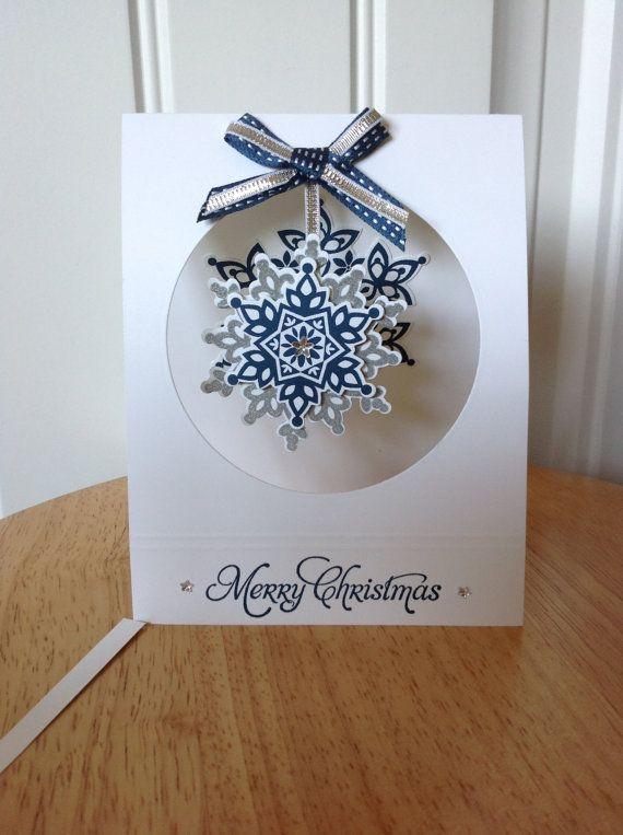 Stampin Up handgemachte Weihnachtskarte hängende von treehouse05 ...