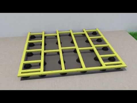 Plot Pour Terrasse NIVO H50 80mm   Plot Pour Lambourdes   Deck Linea