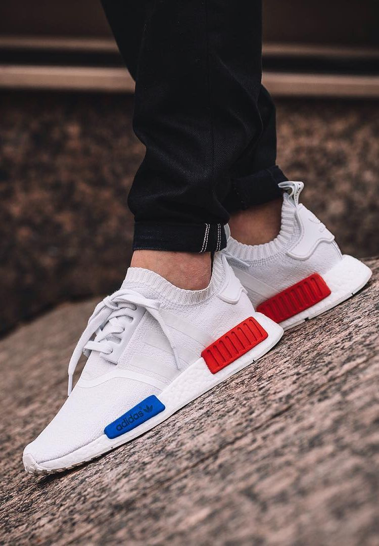 innovative design 0b945 66c8c adidas NMD Runner PK VINTAGE WHITE   LUSH RED  sneakers  sneakernews