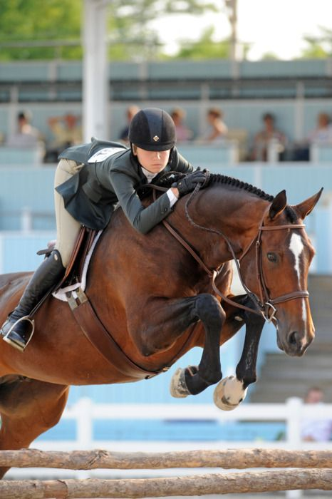 Lillie Keenan- so I kinda love how she looks when riding! So natural & at ease! Like she is part of the horse...