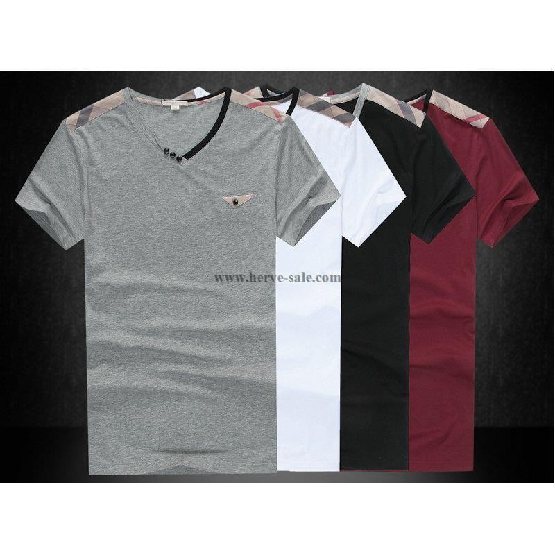 73612a7ffb40 Burberry Men T-Shirt 2014-2015 BTS015(4 colors)