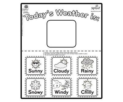 rain coloring pages for preschoolers 01 Weather Pinterest - new preschool coloring pages rain