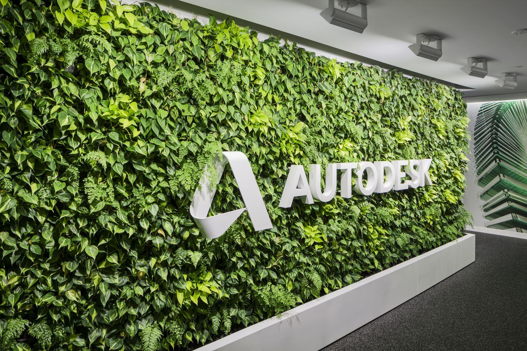 Autodesk habitat horticulture living wall habitat for Living plant walls