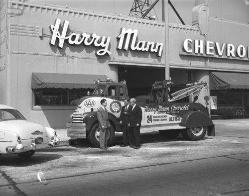 Harry Mann Chevrolet Los Angeles 1952 Chevrolet Dealership