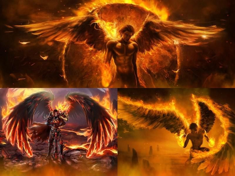 free animated screensavers with sound fallen angels
