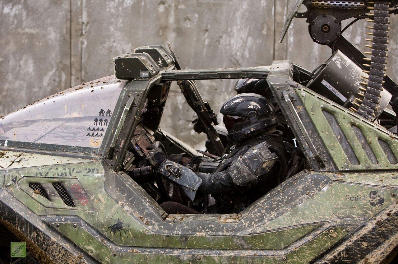 Real Life Halo Vehicles: Writer Over Iconic Landmarks