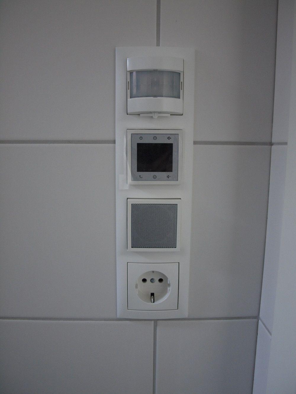 Unterputz Radio Unser Steckdosenradio Im Badezimmer Mit Video Steckdosen Badezimmer Radios