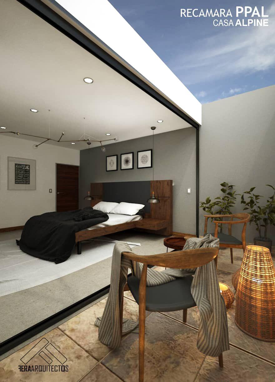 Casa Alpine Homify Planos Arquitectonicos De Casas Casas Modernas Interiores Dormitorios