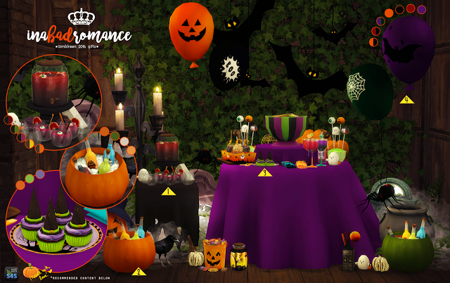 Sims 4 CC's - The Best: Halloween or Spooky by In a bad Romance