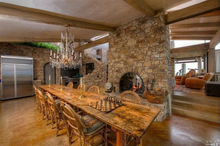 House Carmel Carustic Dining Roomsmountain