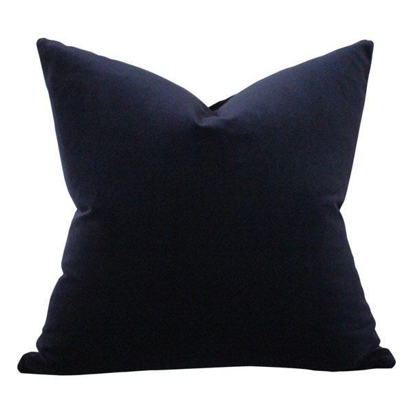 Navy Velvet Fall and Thanksgiving Decor Ideas Pillow