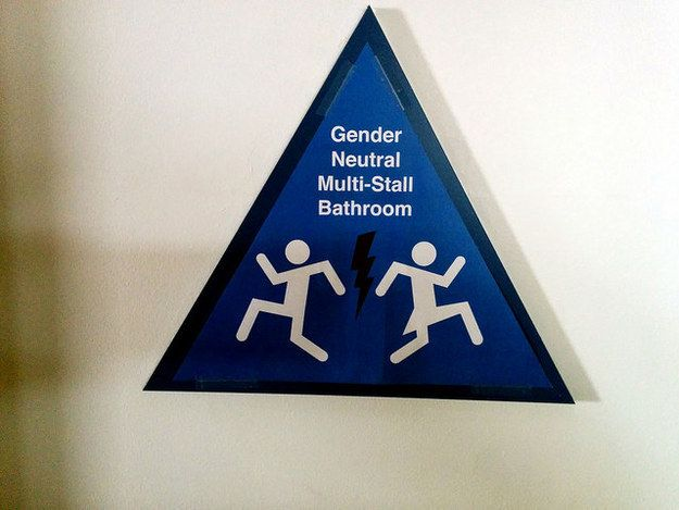 17 Of The Most Fabulous Gender Neutral Bathroom Signs Gender Neutral Bathroom Signs Restroom Sign Neutral Bathroom