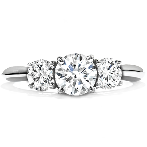 Insignia Three Stone Engagement Ring