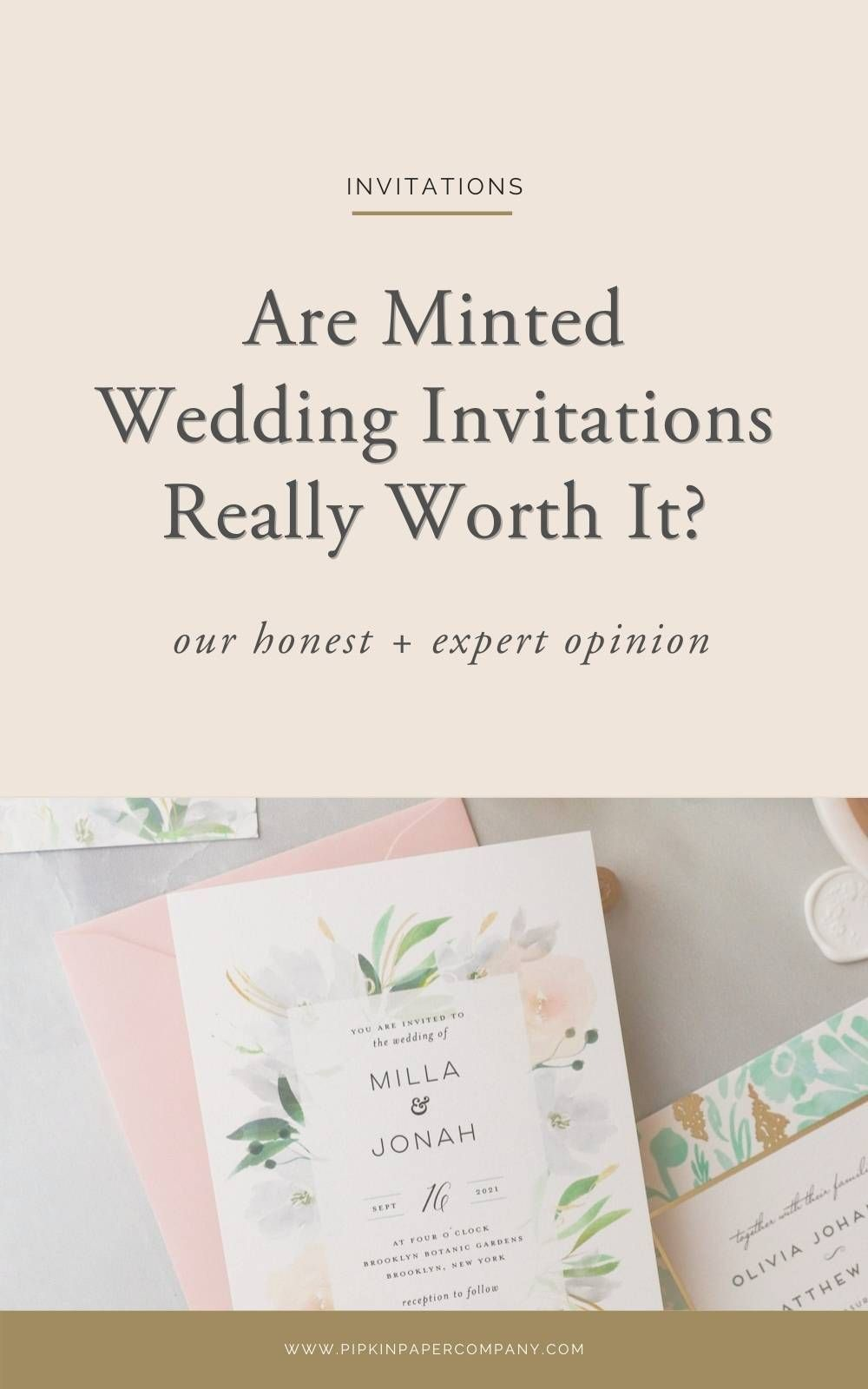 Minted Wedding Invitation Review In 2020 Minted Wedding Invitations Wedding Invitations Mint Wedding