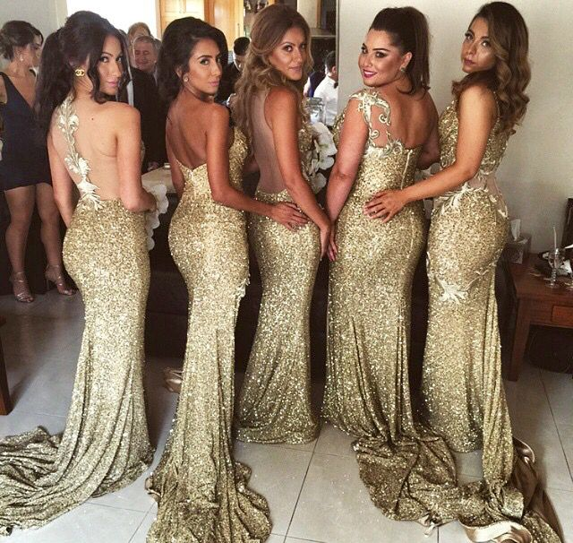 Pinterest Angietopaz13 Sparkly Bridesmaids