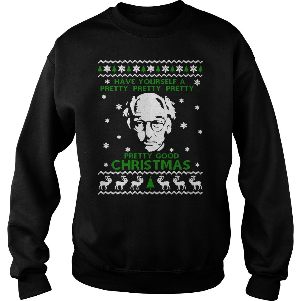 Larry David Pretty Good Christmas Ugly Sweater Xmas Ugly Sweaters