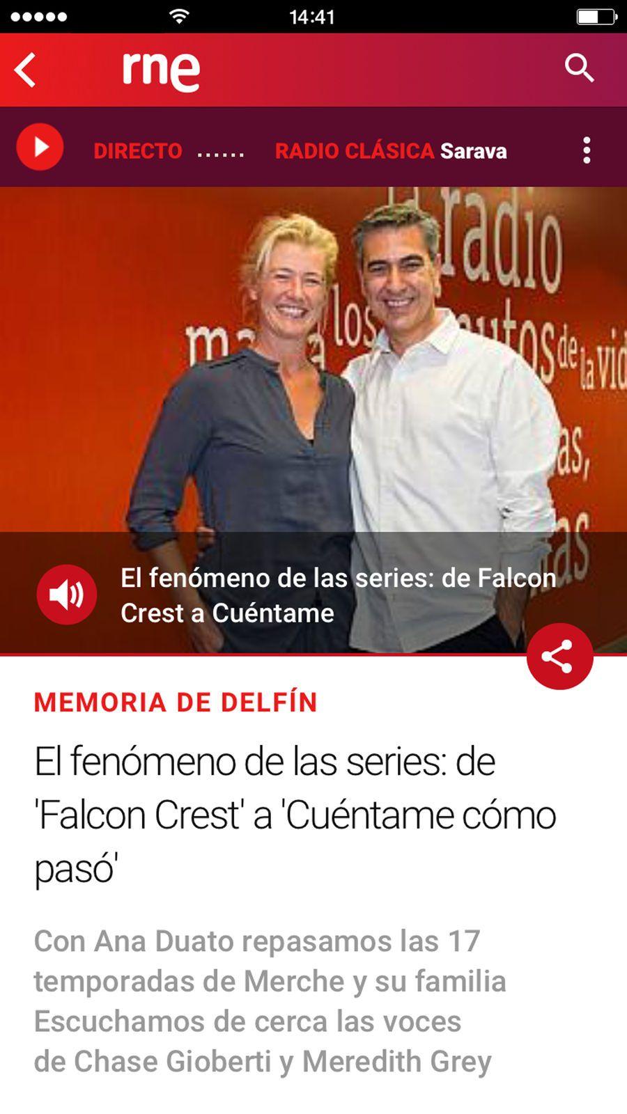 Radio Nacional de Espa?a NewsRTVEiosEntertainment