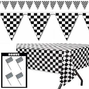Checkered Flag Party Decorations Cohen S Birthday