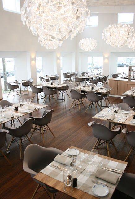 Interior of a nordic restaurant art of for Indoor design dk