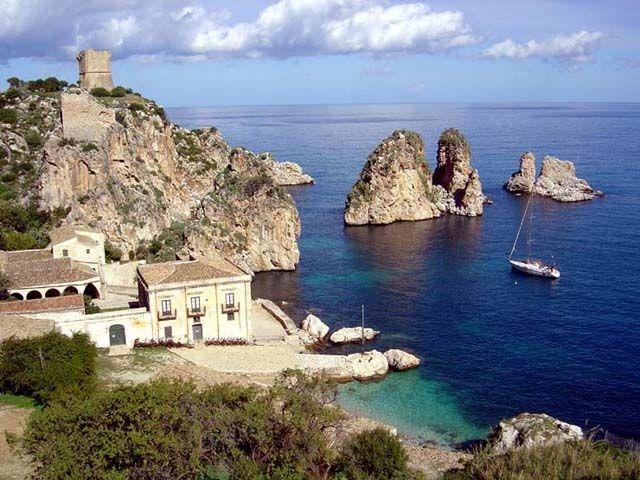 La tonnara di Scopello. Sicilia