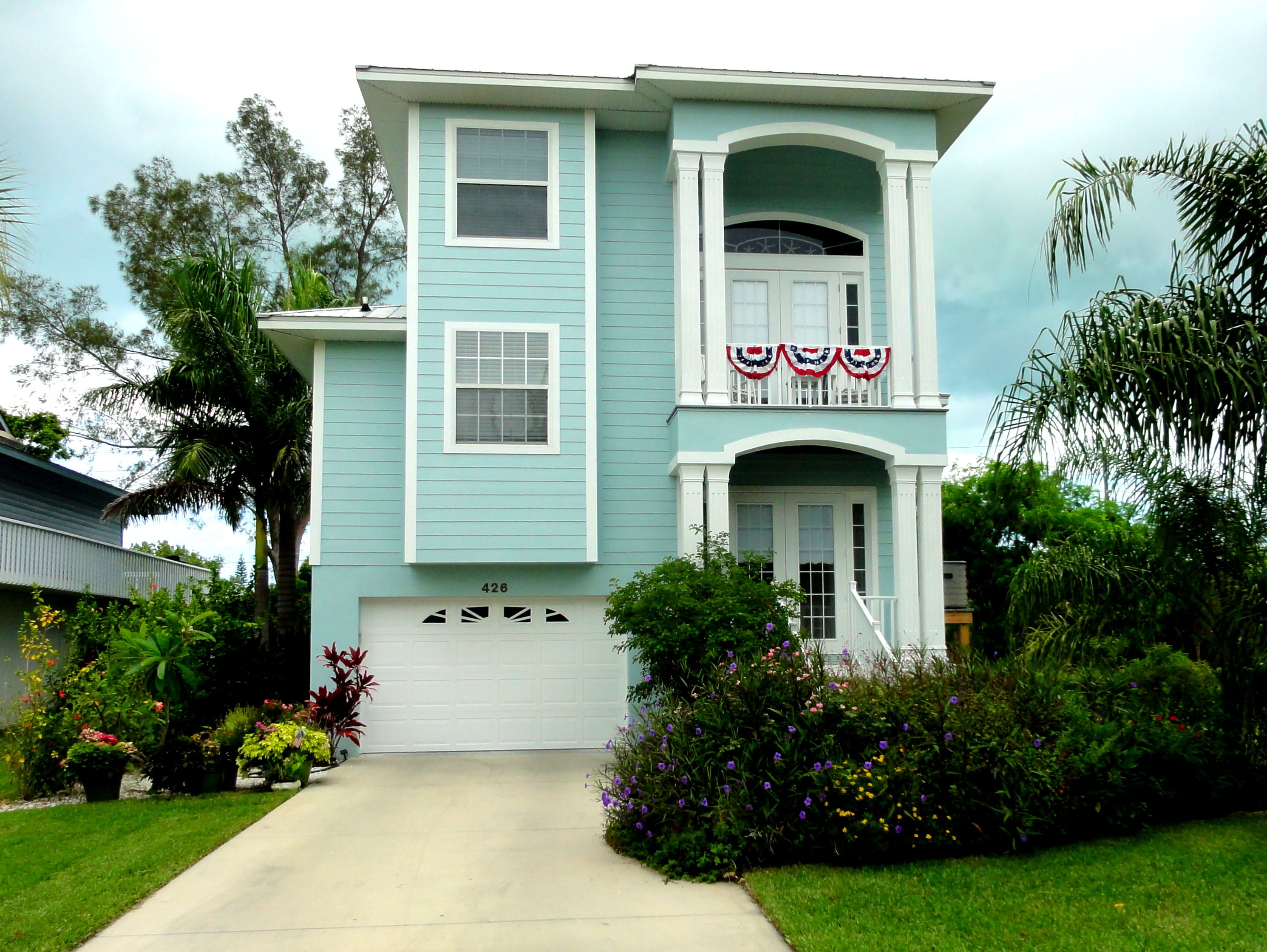 Watery By Sherwin Williams House On Magnolia On Anna Maria Island
