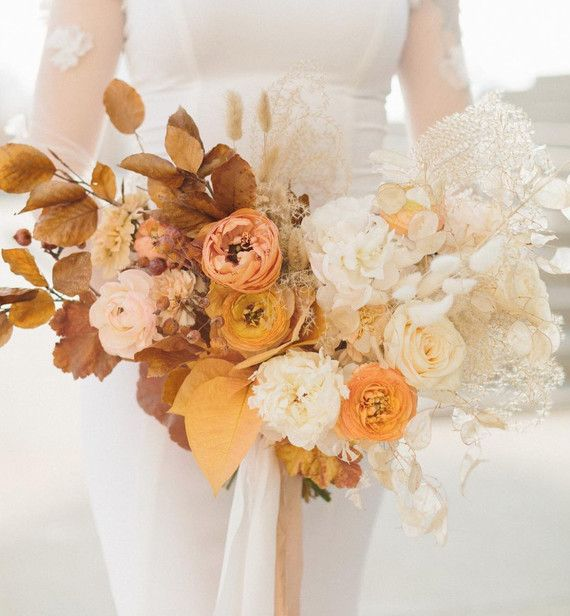 Gorgeous fall bridal bouquet | Wedding & Party Ideas