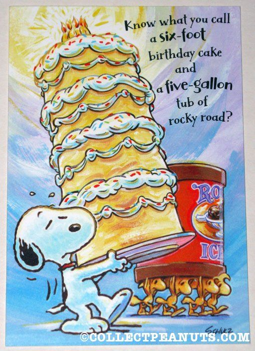 Peanuts Birthday Cards Snoopy Birthdays and Charlie brown
