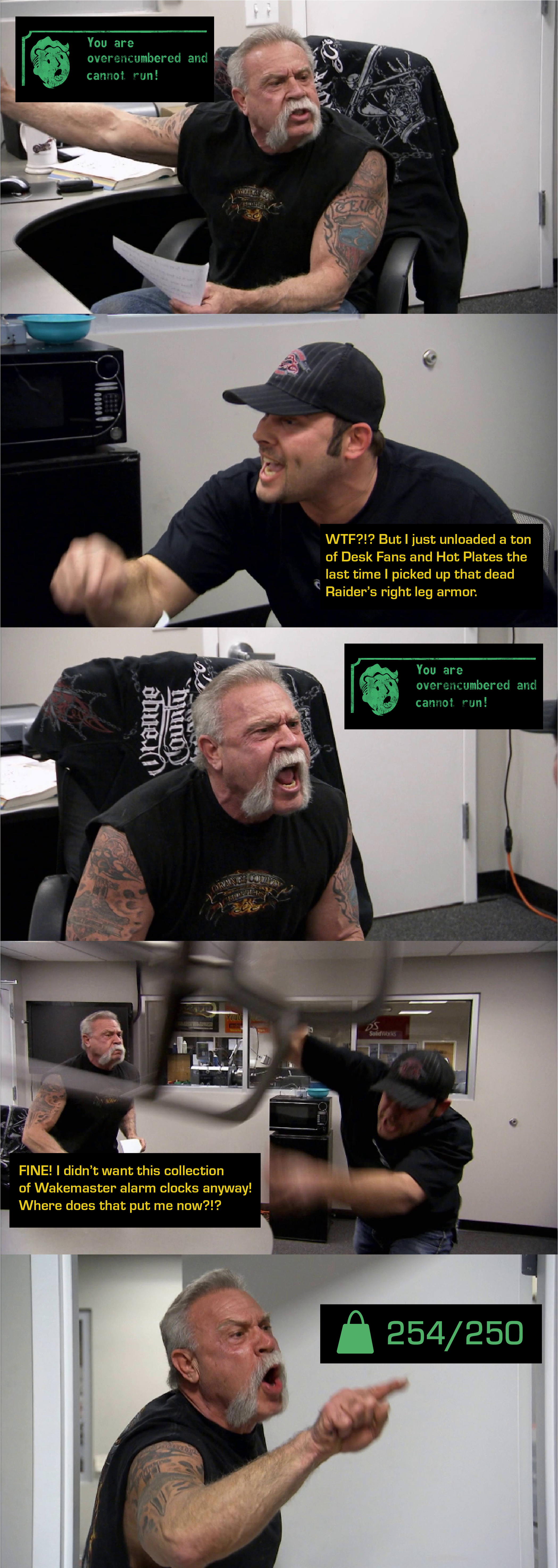 Back To Work Meme Template