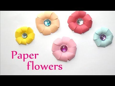 Pysseltips – de här dekorativa pappersblommorna fixar du på bara några minuter! – Bättre hälsa
