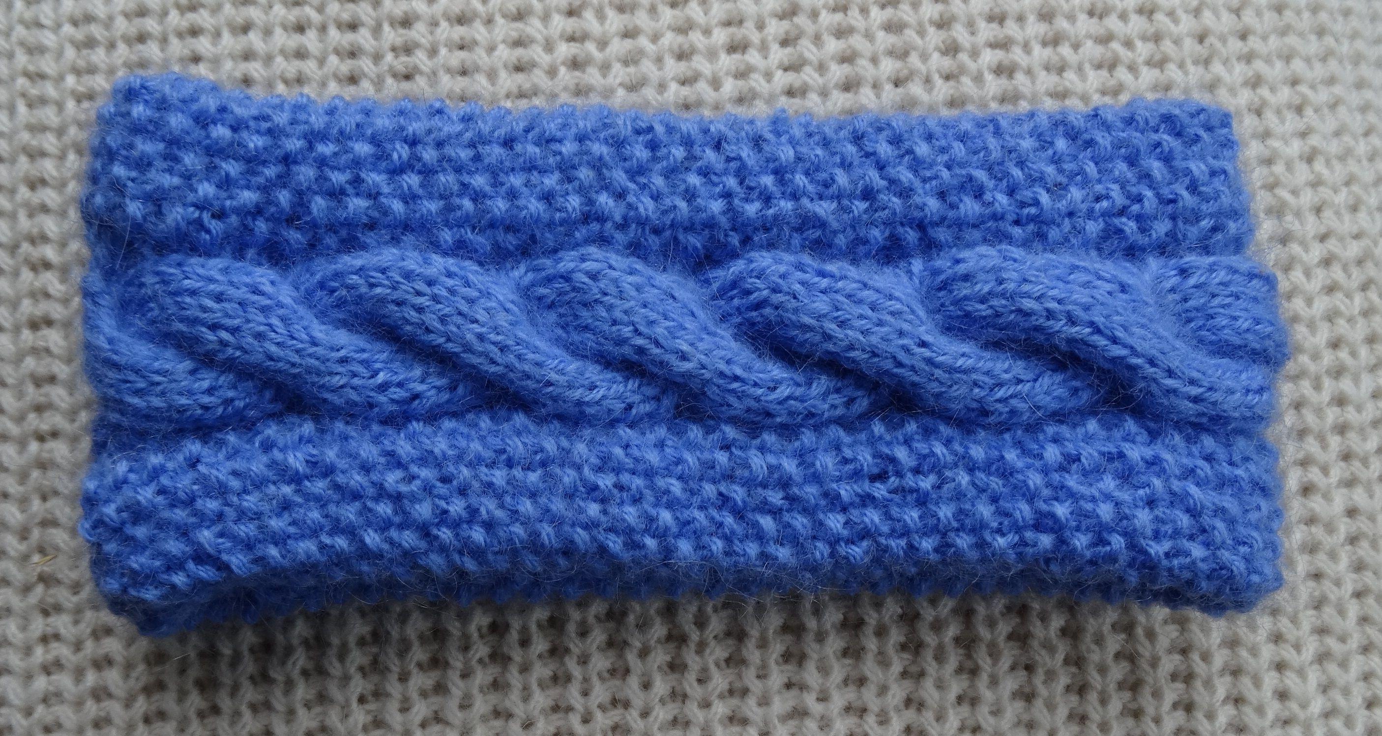 bandeau point de riz et torsade simple laine pinterest tricot tricot et crochet et bandeau. Black Bedroom Furniture Sets. Home Design Ideas