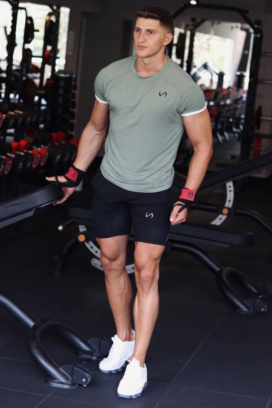Air Flex Classic Tee In 2021 Gym Outfit Men Mens Workout Clothes Mens Fitness