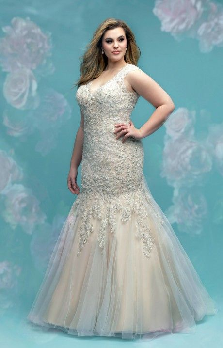 Pin On Plus Size Bridal Gowns