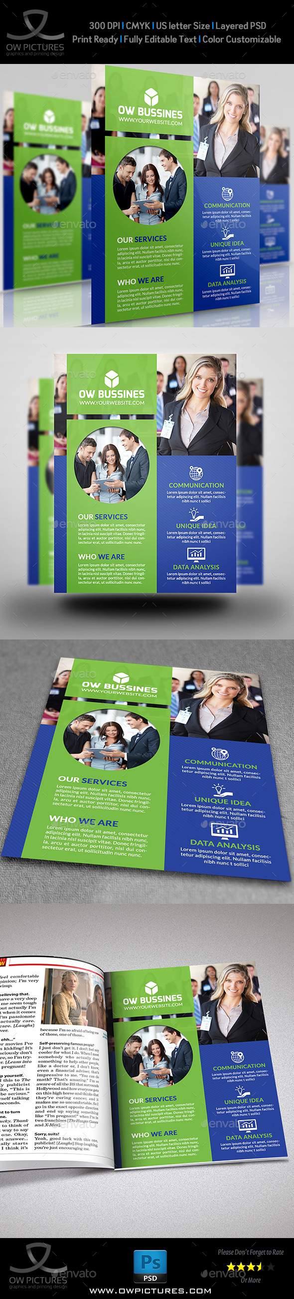 Corporate Business Flyer Vol13 Business Flyers Corporate