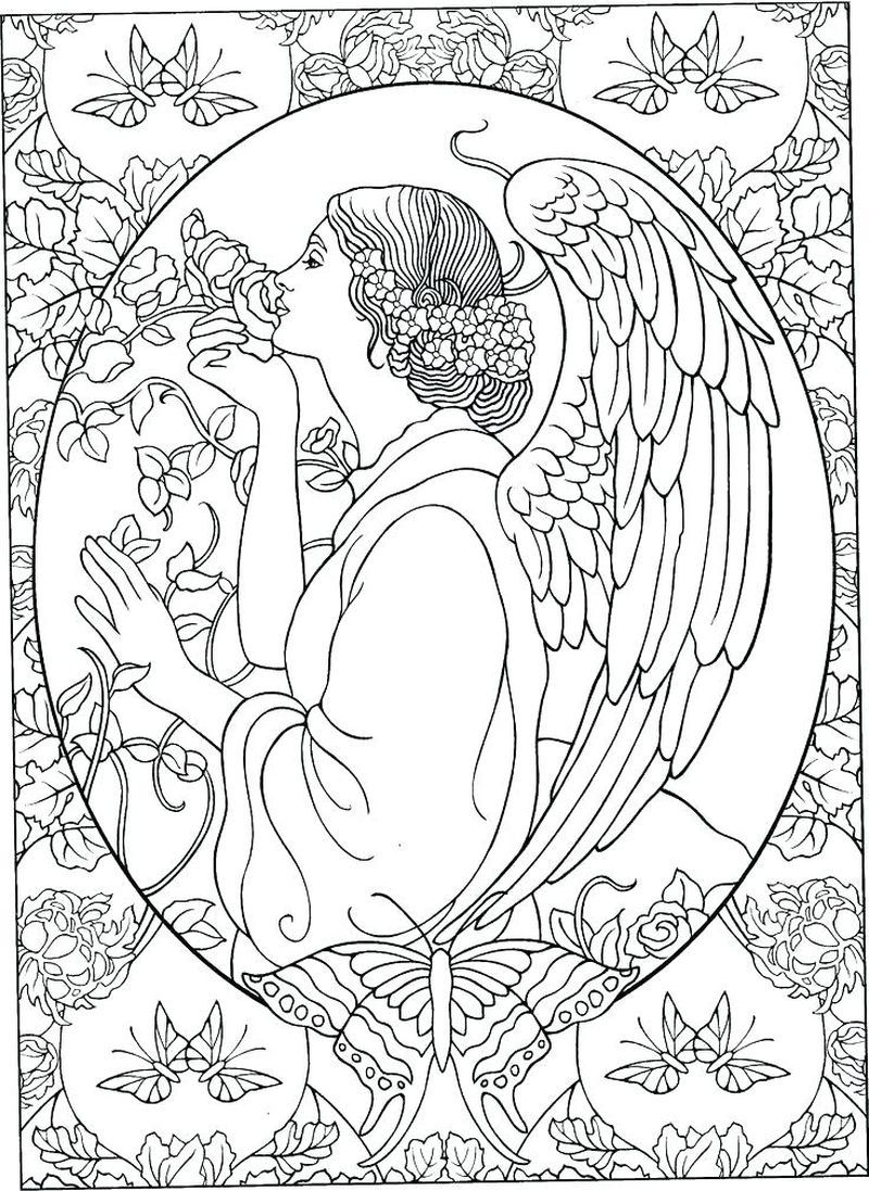 Christmas Angel Coloring Page Angel Coloring Pages Free Christmas Coloring Pages Printable Christmas Coloring Pages